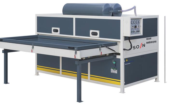 FM2300C-2 Double sides Vacuum Membrane Press machine