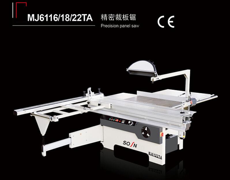MJ6122TA sliding table saw