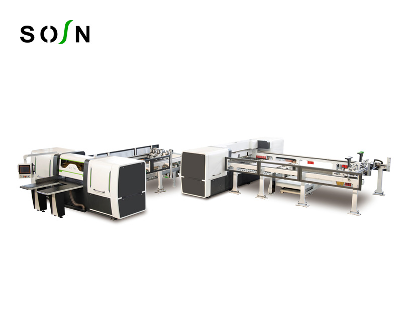 ZH-3316 Automatic Vertical and Transverse Cutting Board Saw